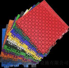 广西郁南篮球场拼装地板广西悬浮地板厂家橡胶地垫