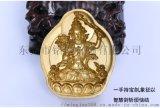 藏传黄铜擦擦模具供奉收藏精品