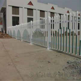 区庭院PVC围墙护栏 变压器栅栏 住宅楼PVC围栏