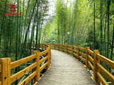 重庆木栈道厂,公园木栈道设计修建