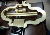 定做不鏽鋼大門拉手鍍黃銅製品把手裝飾