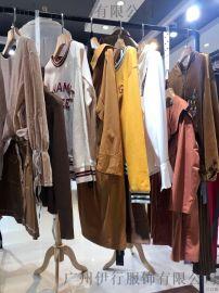 无涩一诺广州折扣女装批发amls折扣女装 杭州品牌尾货批发市场在哪里批发金色外套