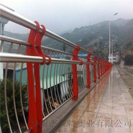 交通安全防撞护栏桥梁护栏不锈钢复合管栏杆