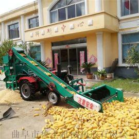 黑龙江大型全自动双滚筒免剥皮玉米脱粒机厂家