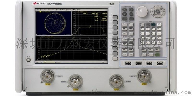 安捷倫N5224A網路分析儀維修,租賃