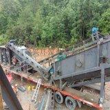 山东锤式移动破碎站 轮胎式移动破碎站多少钱一台
