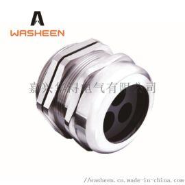 华浔电气 不锈钢多孔电缆防水接头 电缆防水连接
