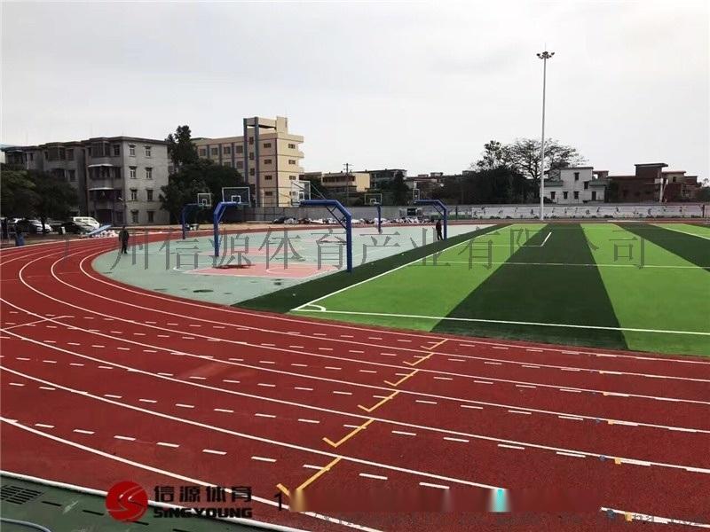 人造草足球场,标准环保人造草足球场施工建设