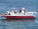 訂製玻璃鋼拖傘艇9米運動休閒艇拖傘船廠家直銷