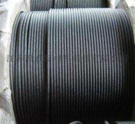 镀锌、光面钢丝绳6*12+FC,6*24+7FC