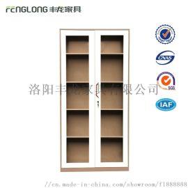 通玻文件柜办公柜钢制铁皮柜资料柜档案柜储物柜玻璃柜