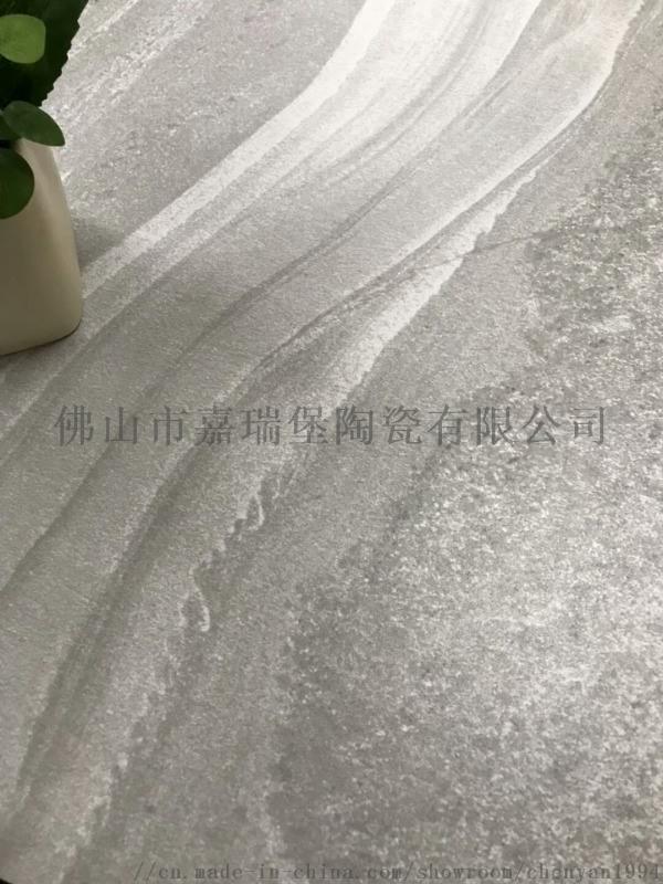 仿古砖600阳台防滑耐磨瓷砖工程店铺地板砖水泥灰色