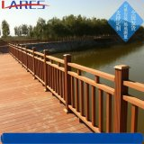 水泥仿木护栏厂 河道景区仿木护栏安装 水泥栏杆