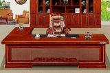 3236款3.2米油漆总裁台 胡桃木皮绿色环保家具