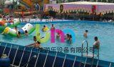 大型支架游泳池,移動式支架水池水上樂園潛力項目