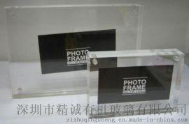 防刮亚克力相框相架 加厚透明有机玻璃磁性相框相 架桌面台卡批发