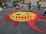 幼兒園室外塑膠地面-青島塑膠地面