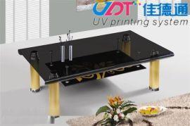 武汉茶几桌面印花机 玻璃桌面台面喷绘彩印
