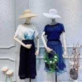 好的女装品牌双流唯众良品门店电活尾货女装批发旗袍棉麻女装地摊皮裤女装