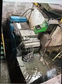 磨床冷却液过滤装置安置在地坑