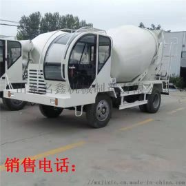 东风5方商混搅拌车小型水泥罐车移动式混凝土运输罐车