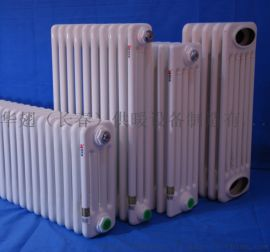 华翅暖气片 钢制弧型管柱式散热器