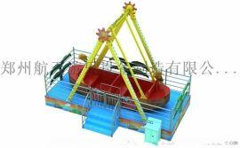 航天游乐推出新款迷你海盗船游乐设备
