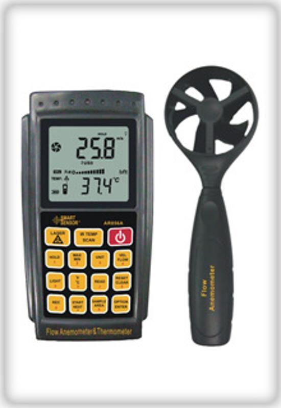 供应数字风速仪,USB风速表,风速风量风温仪AR856
