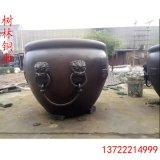 厂家直销铸铜水缸 故宫铜大缸摆件 仿古铜大缸 铜制品铸造厂
