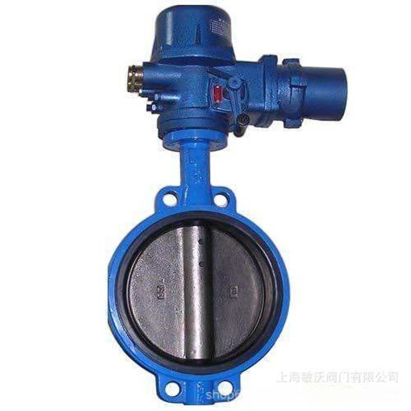 D971X(WBEX0电动蝶阀 电动对夹式调节蝶阀 DN200