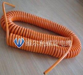 移动设备弹簧线螺旋电缆