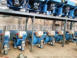 厂家供应移动抛丸机,钢板打磨机,地面抛丸机