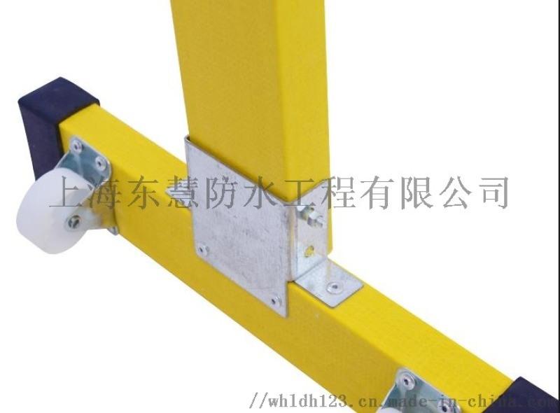 闵行定制可伸缩玻璃钢移动式围栏注意事项