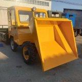 工厂运输废料用一吨翻/工程运输物料前卸式翻斗车