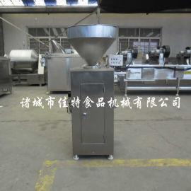 工业化生产使用的糯米肠灌肠机 资阳液压灌肠机