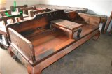 船木罗汉床仿古款 船木抱脚罗汉床 明清仿古船木家具