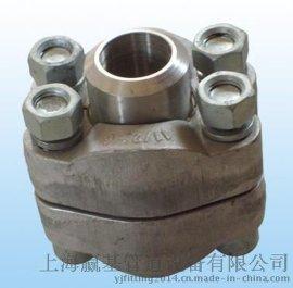 赢基SAE-B 国标碳钢液压法兰 不锈钢液压法兰 非标液压管件 SAE-承插式焊接法兰.