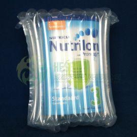 禾绳 10柱奶粉气柱充气气囊气泡防震防爆缓冲快递运输包装气垫袋