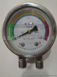 厂家供应仪器仪表/差压表/充油耐震/不锈钢材质