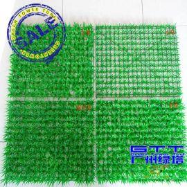 仿真草坪 塑料人造草皮 房顶装饰带花草坪
