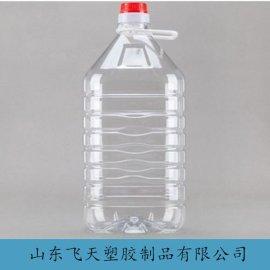 山东厂家专业生产5LPET食用油桶 透明食用油桶塑料桶生产厂家