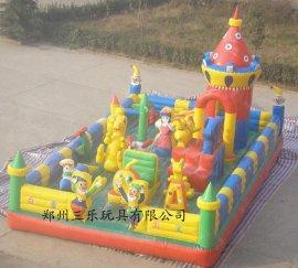 吉林省和龙市充气玩具哪里卖的便宜/大型充气城堡蹦床