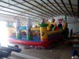 72平儿童乐园 充气滑梯现货 室外充气蹦床 大型滑梯城堡 广场气模