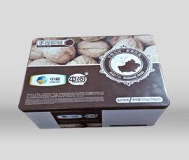 润丰制罐铁盒定制铁罐包装山东铁盒包装厂家食品铁盒包装核桃礼品铁盒包装