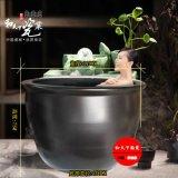 景德鎮專業定製上海極樂湯大泡澡缸水波紋洗浴大缸顏色釉洗浴大缸