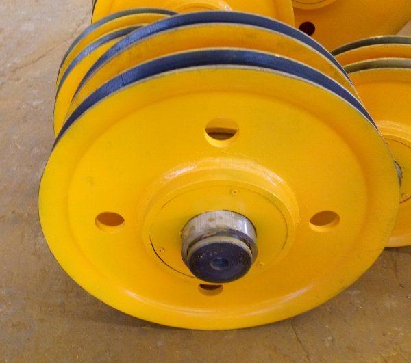 滑轮组生产厂家 5t起重机滑轮 铸钢滑轮 A类轴承