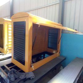 配置防雨棚静音箱可移动30-50千瓦拖车 四轮可定制 转向灵活