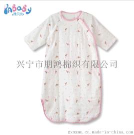婴儿纯棉纱布睡袋好吗?