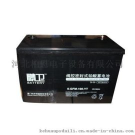 科华 精卫蓄电池 UPS后备电瓶 6-GFM-65-YT 12V65AH 全新现货