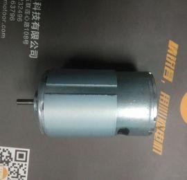 厂家供应 大扭力碳刷马达 直流电机 555微电机